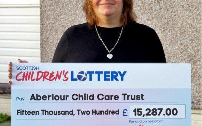 Pictured: Rachel Murdie from Aberlour Child Care Trust