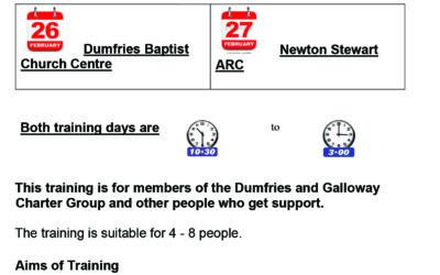 Training chairing meetings