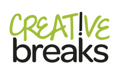 Creative Breaks logo and Funding workshop