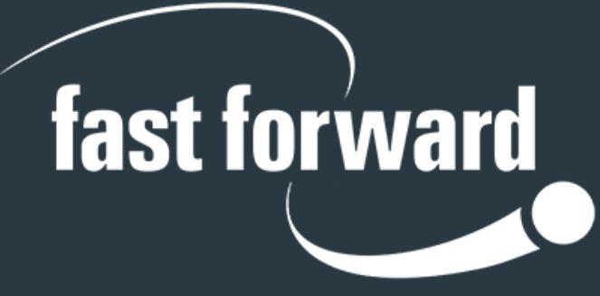 Fast Forward Logo - Gambling Education