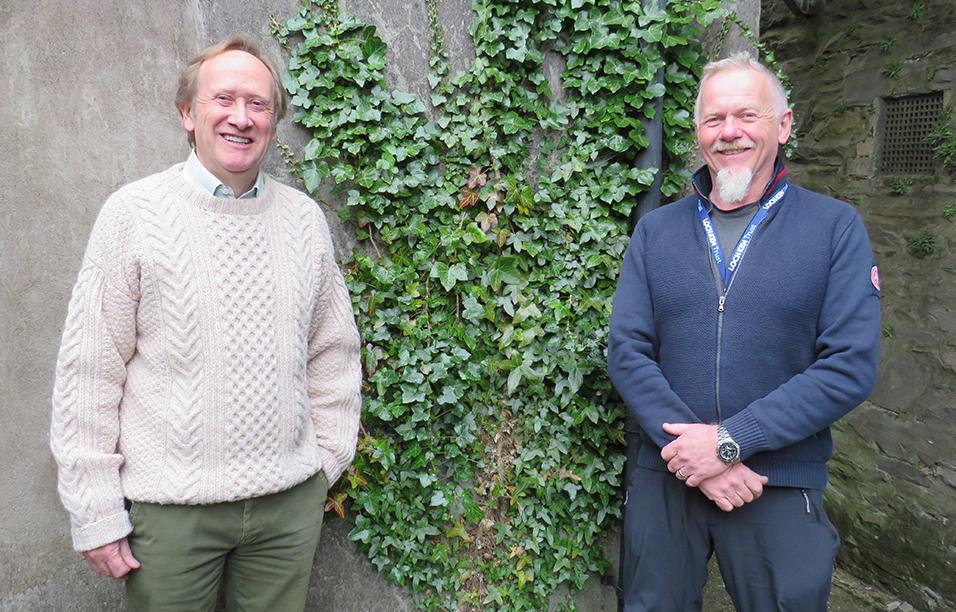 l-r Alan Smith LKT Chair, Ken Scott Loch Ken Ranger